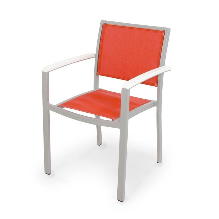 POLYWOOD Bayline Dining Arm Chair