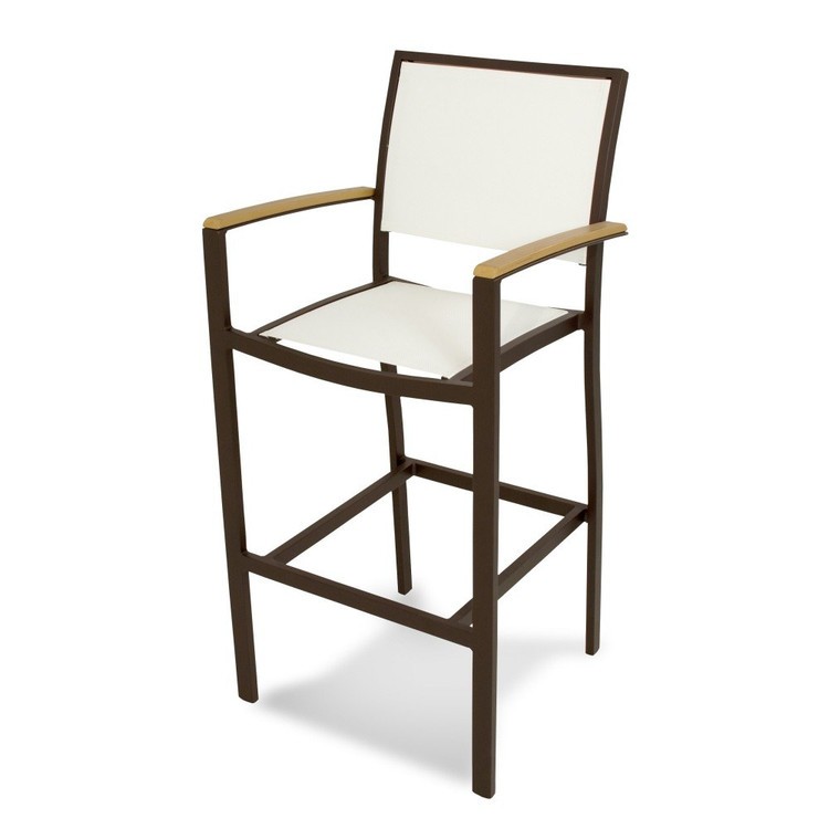 POLYWOOD Bayline Bar Arm Chair