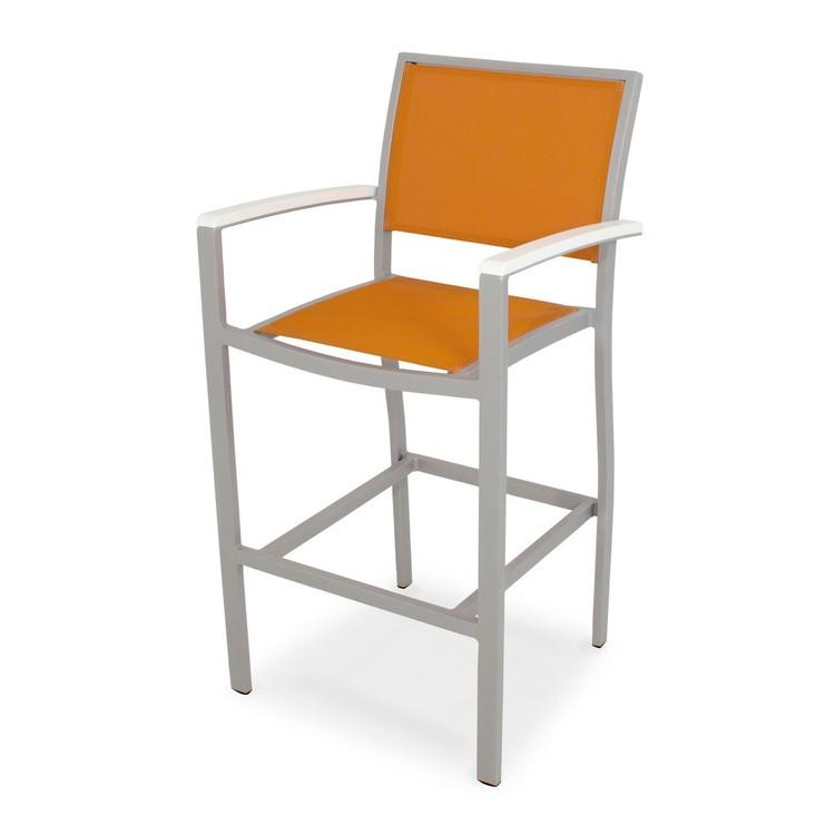 POLYWOOD Bayline Bar Arm Chair