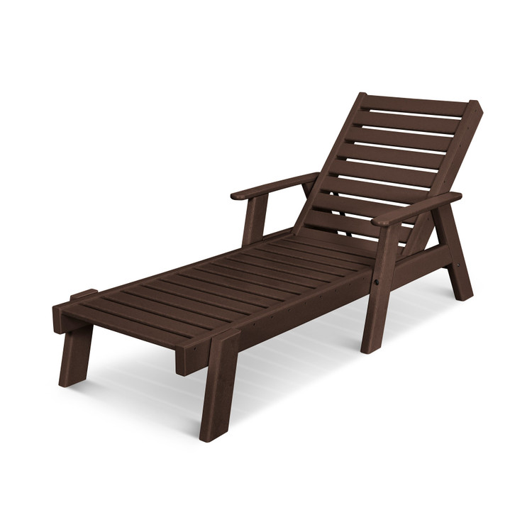 POLYWOOD Captain Chaise Arms