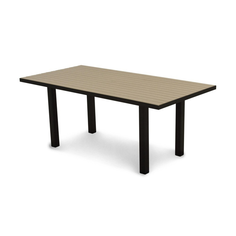 "POLYWOOD Euro 36"" 72"" Dining Table"