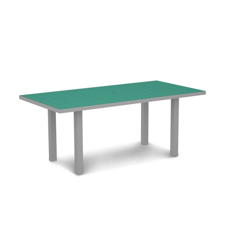 """POLYWOOD Euro 36"""" 72"""" Dining Table"""