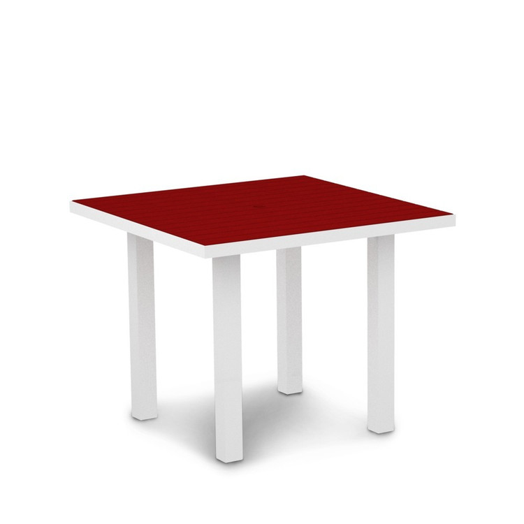 "POLYWOOD Euro 36"" Square Dining"