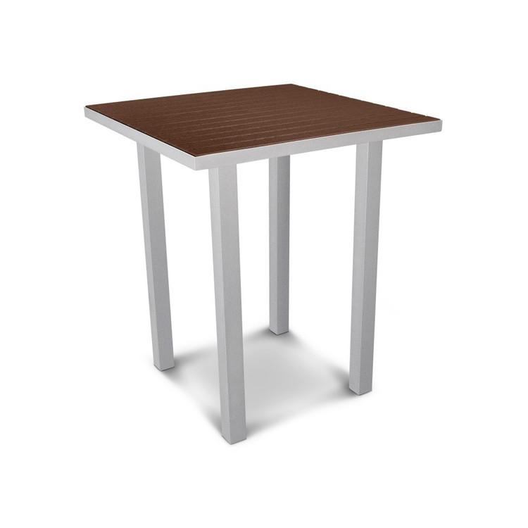 "POLYWOOD Euro 36"" Square Bar Table"