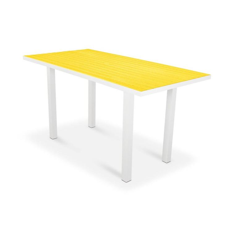 "POLYWOOD Euro 36"" 72"" Counter Table"