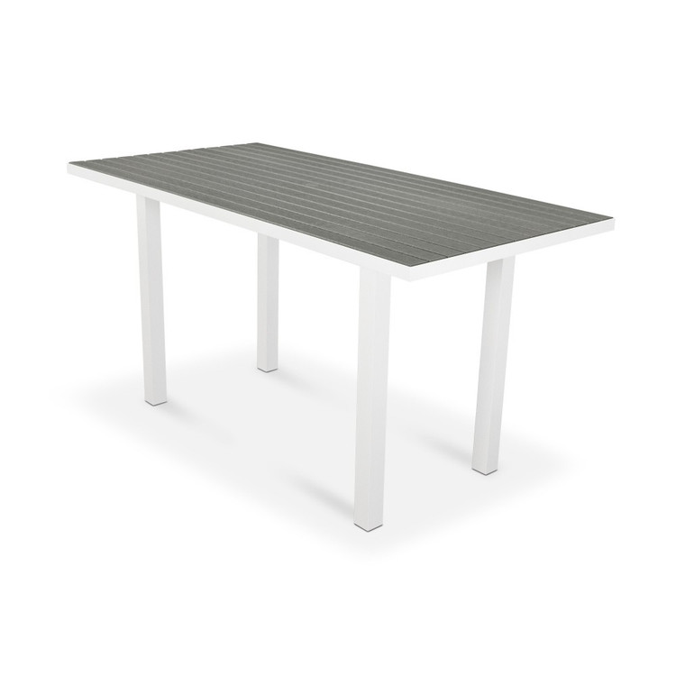 "POLYWOOD Euro 36"" 72"" Counter Table"