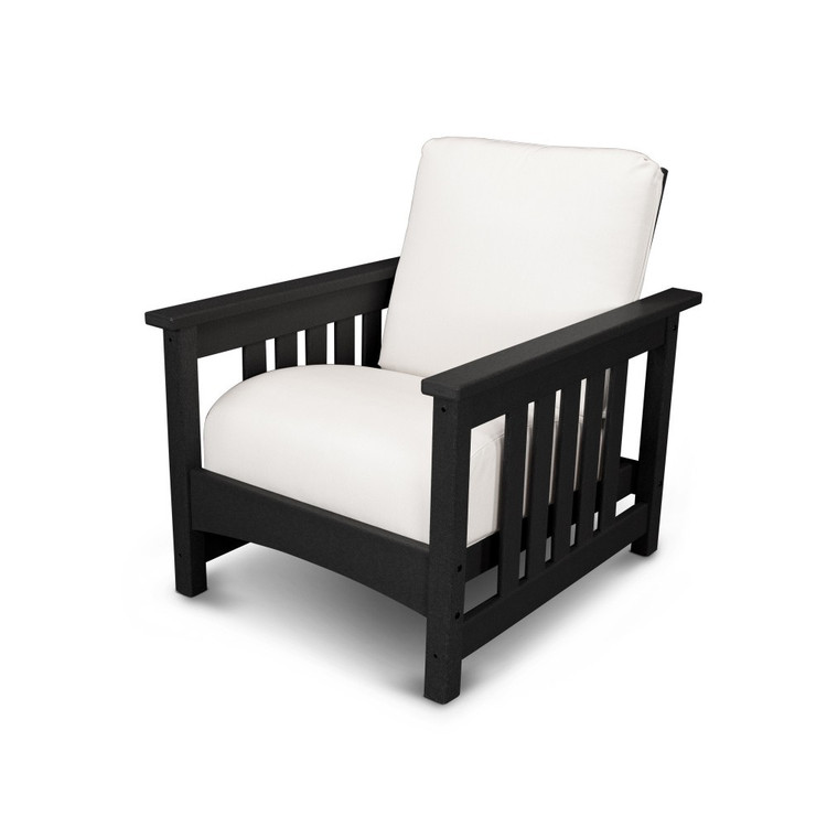 POLYWOOD Mission Black Chair