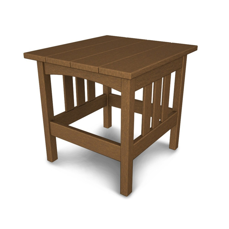 """POLYWOOD Mission 22""""x24"""" Side Table"""