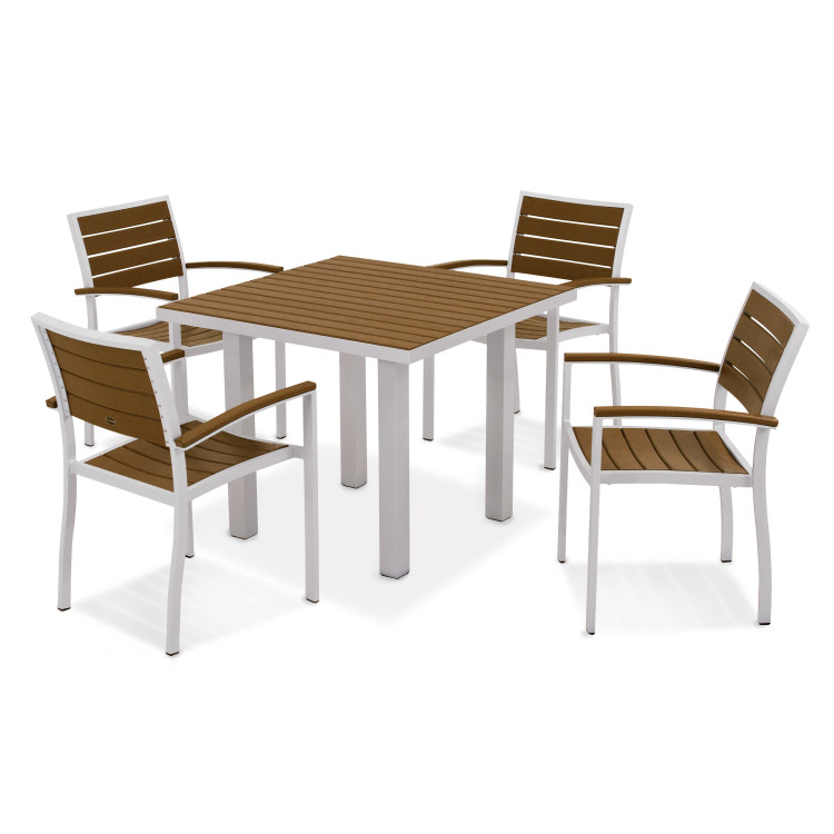 POLYWOOD Euro 5-Piece Dining Set