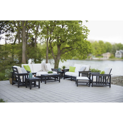 POLYWOOD Mission 8-Piece Black