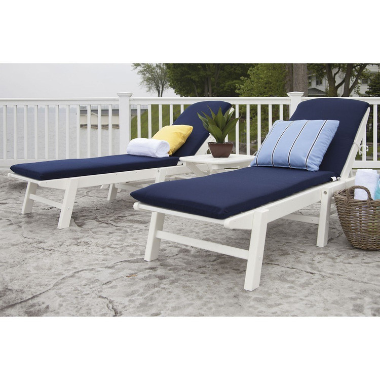 POLYWOOD Nautical 3 Piece White
