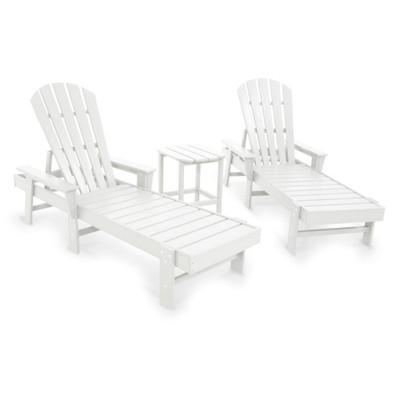 POLYWOOD South Beach White Chaise