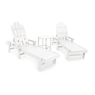 POLYWOOD Long Island White Chaise