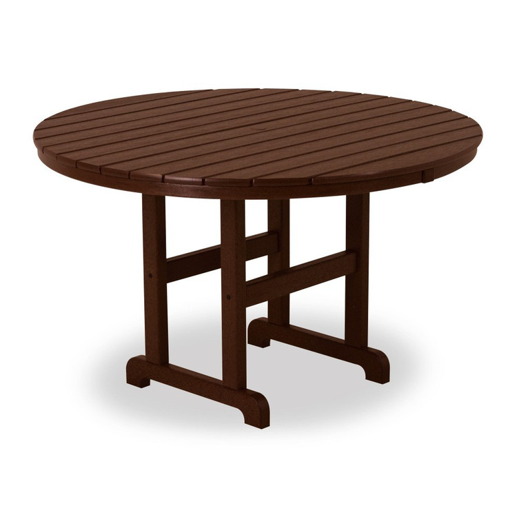 """POLYWOOD Round 48"""" Dining Table"""