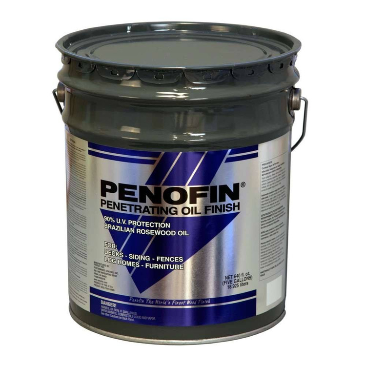 Blue Label Exterior Penetrating Oil Finish - 5 Gallons