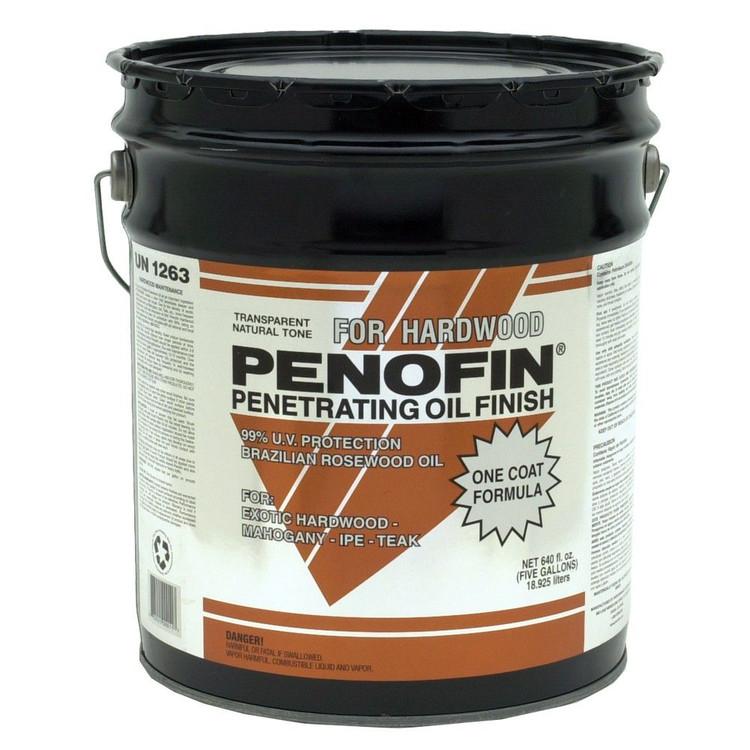 Exotic Hardwood Formula Exterior Oil Finish 5 Gallon