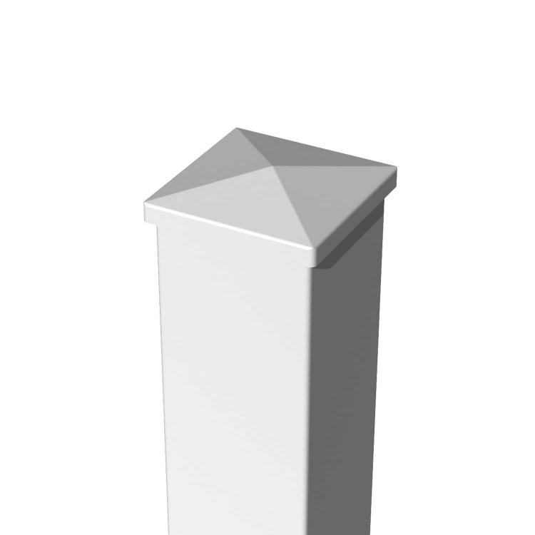 RDI Titan Pro Flat Post Cap White