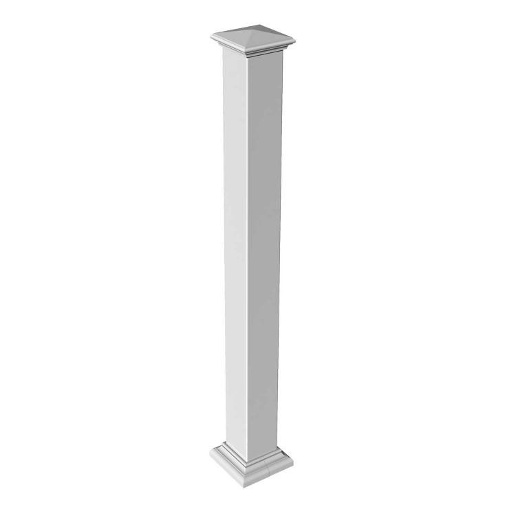 RDI Titan Pro Blank Post White