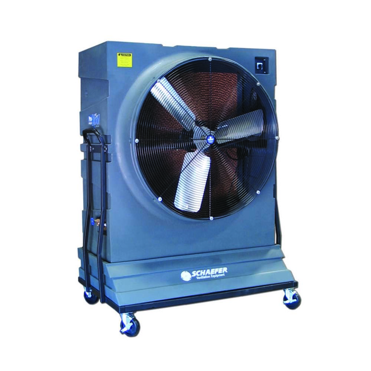 pro kool portable evaporative cooler w 42 fan schaefer fan. Black Bedroom Furniture Sets. Home Design Ideas