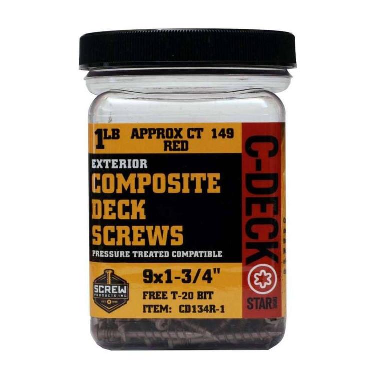 "Screw Products C-Deck #9 1-3/4"""