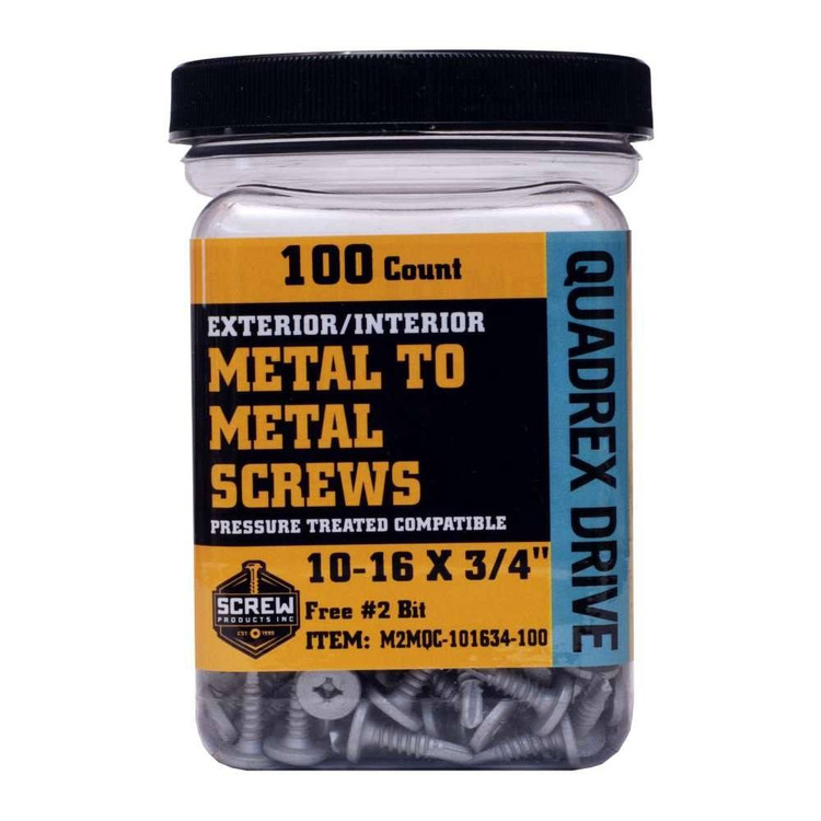 Screw Products M2M Square Drive