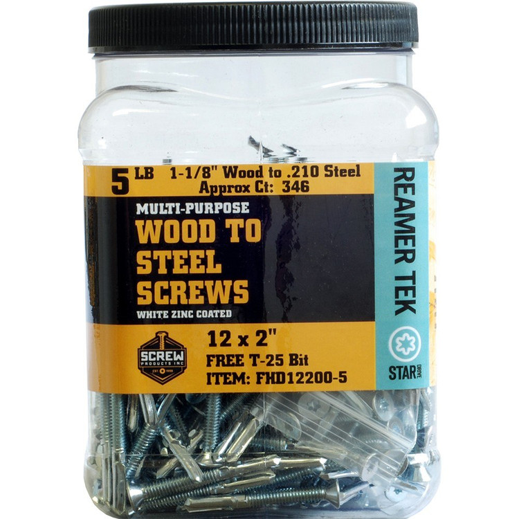 Screw Products Reamer Tek 12-24