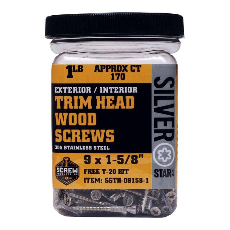 Screw Products Silver Star Trim