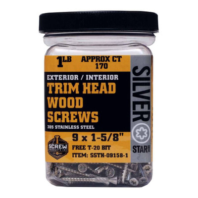 Screw Products Silver Star Trim