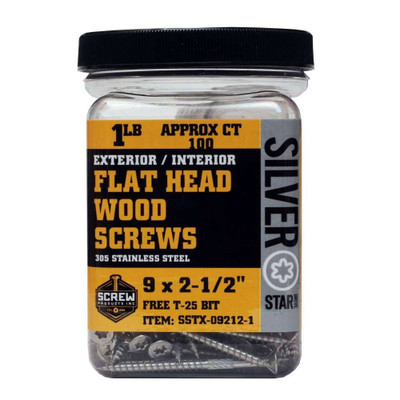Screw Products Silver Star #9