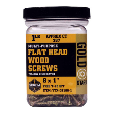 Screw Products Gold Star #8