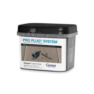 Pro Plug System for Gossen Decking - 100 Square Feet