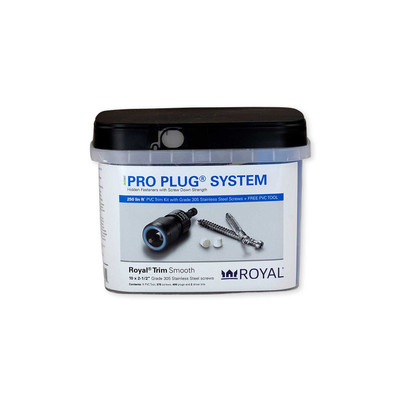 Pro Plug System for Royal Trim - 250 Linear Feet