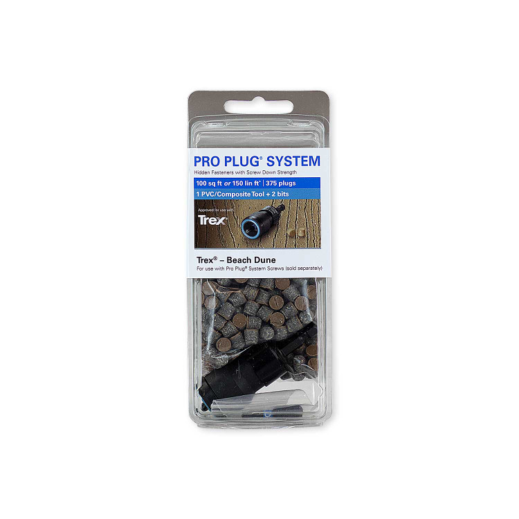Pro Plugs For Trex Decking 375 Pack Starborn