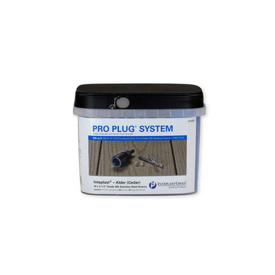 Pro Plug System for TUFboard Decking - 100 Square Feet