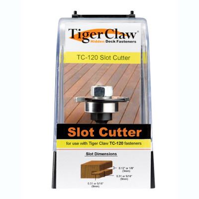 TigerClaw TC-120 Slot Cutter