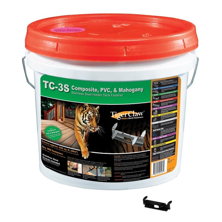 TigerClaw TC-3S Composites Bucket