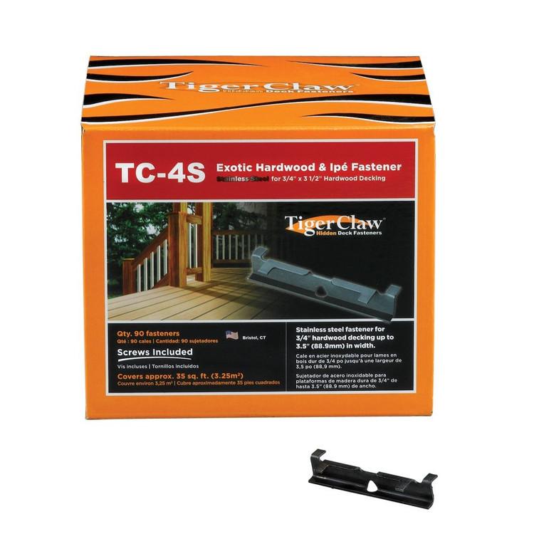 TigerClaw TC-4S Iron Wood Box 90