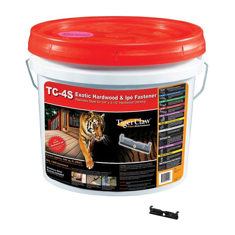 TigerClaw TC-4S Iron Wood Bucket