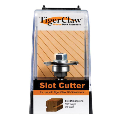 """TC-G Slot Cutter for Ungrooved 1"""" or Thicker Decking"""