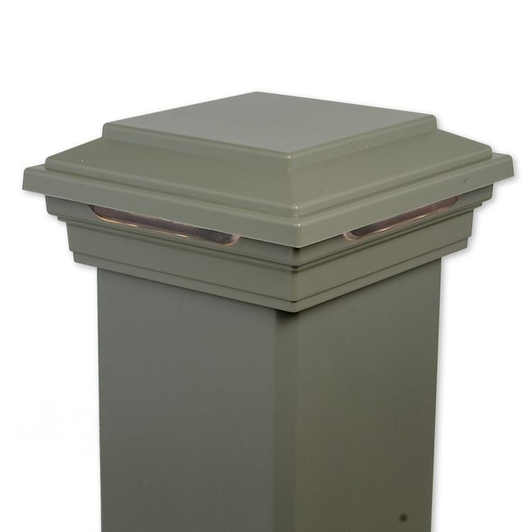Trex DeckLighting LED Flat Post