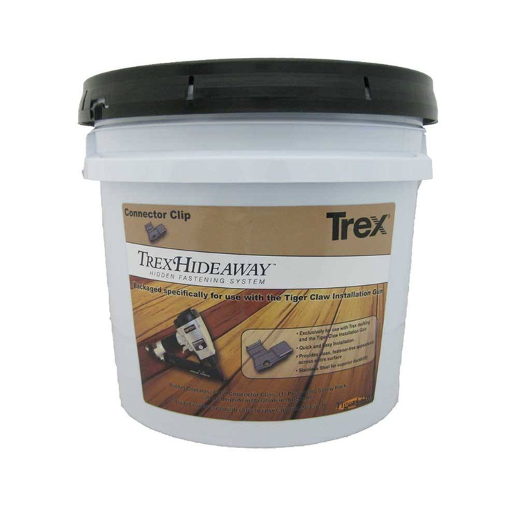 Trex Hideaway Steel Fasteners and