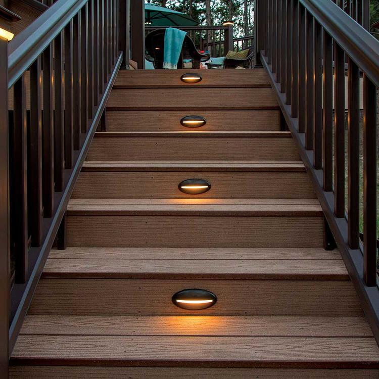 Decklites Led Riser Light Bronze Timbertech