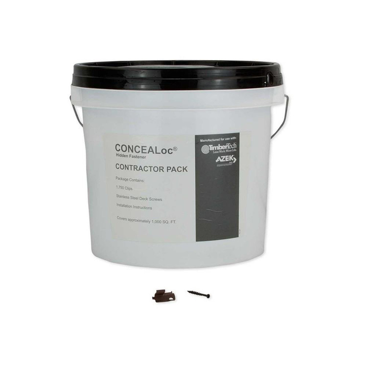 TimberTech CONCEALoc Screws Bucket