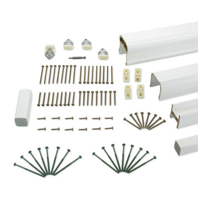 RadianceRail Complete Railing Kit - 6' - White
