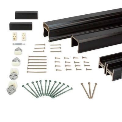 RadianceRail Rail Pack for Cable, Glass, or Aluminum Balusters - 8'