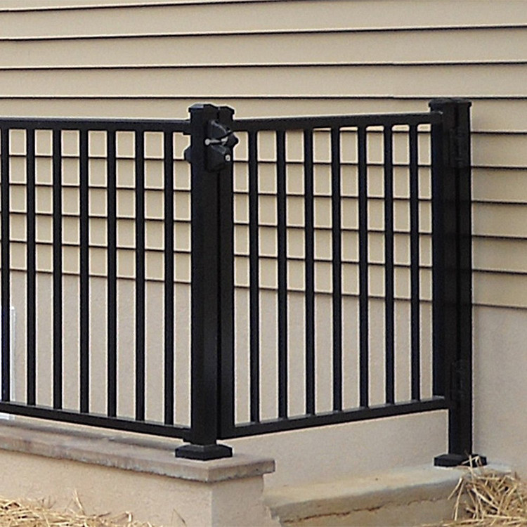 Tuscany Adjustable Gate With Square Balusters